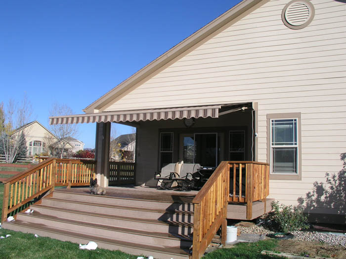 Msta residential awnings for Motor for retractable awning